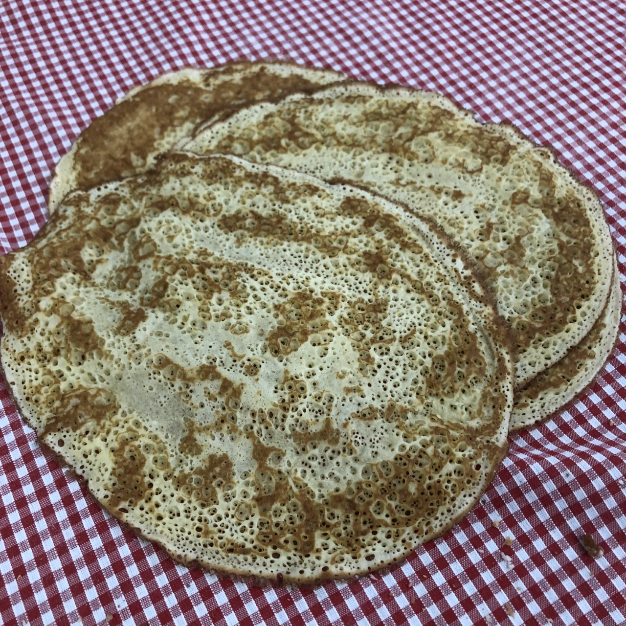 Big Thin Pancakes (6 pack)
