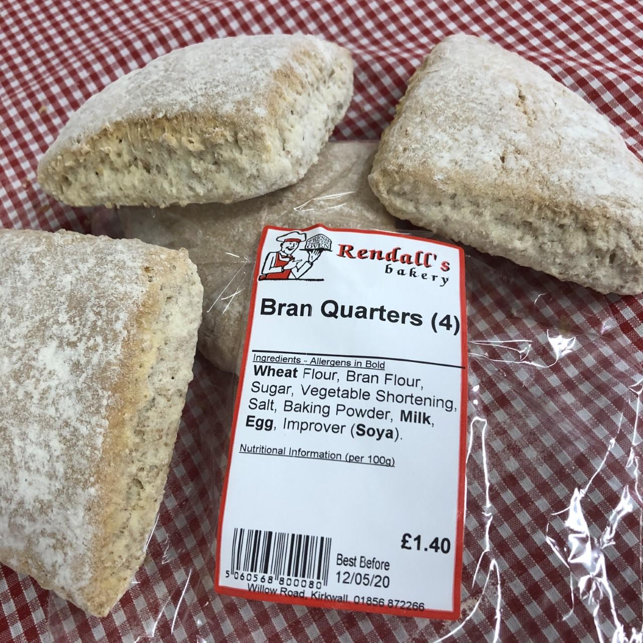 Quarters (4 pack)