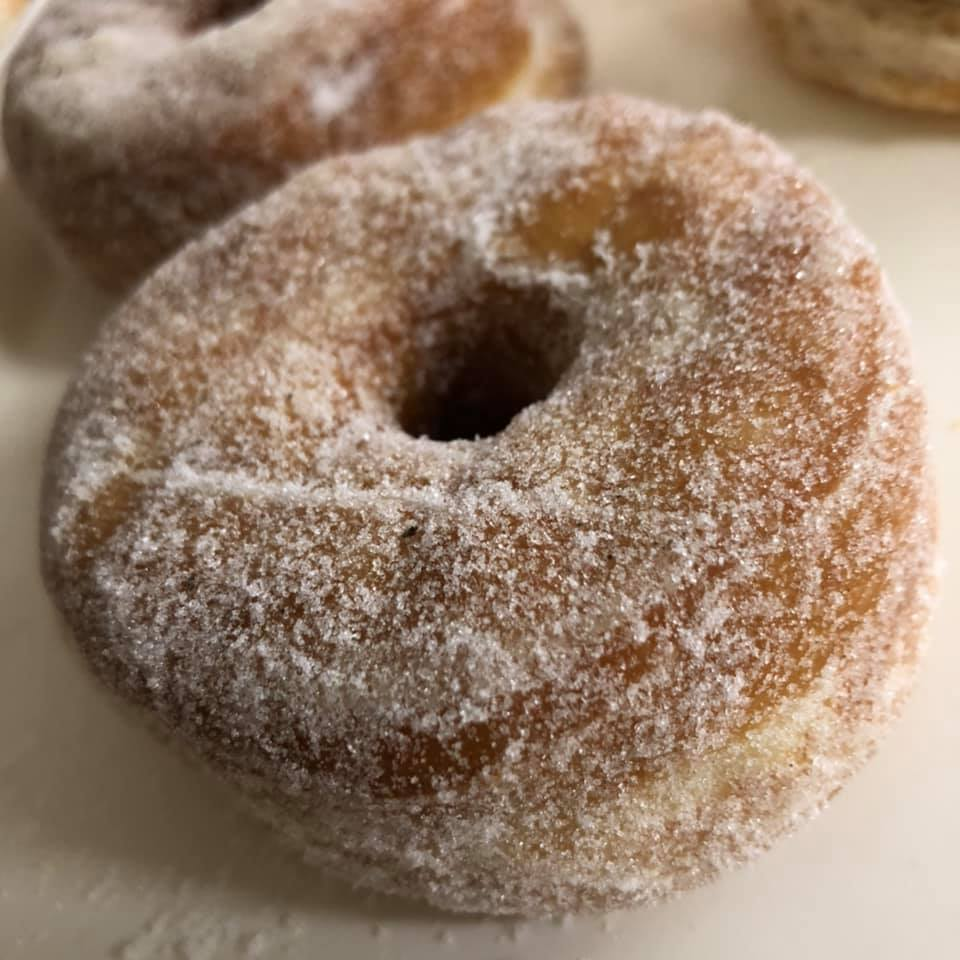 Plain Sugar Doughring (2 pack)