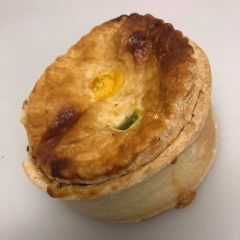 Chicken Curry & Veg Pie